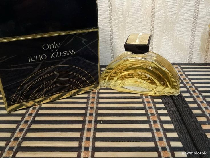 Only Julio Iglesias 50ml. EDT Vintage by MyScent on Etsy