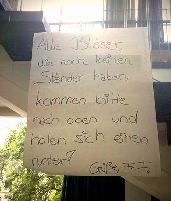 Bläser #derneuemann #humor #lustig #spaß