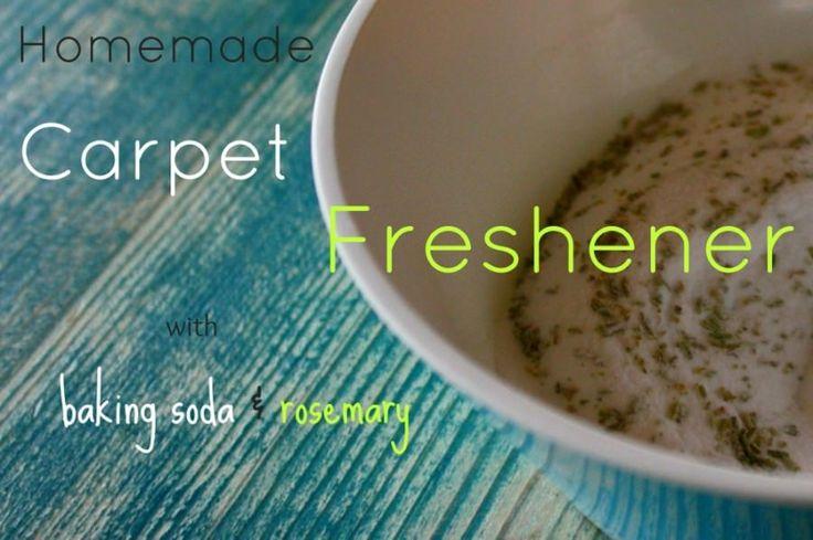 homemade carpet freshener