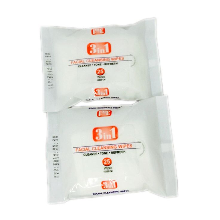 20 sheet/ bags No flavor wipes wet wipe first aid Cleansing contenitore per salviette Skin wipes cleaning wipes wipes customized