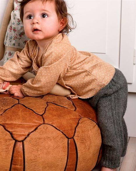 Strik selv: Babybukser - Hendes Verden