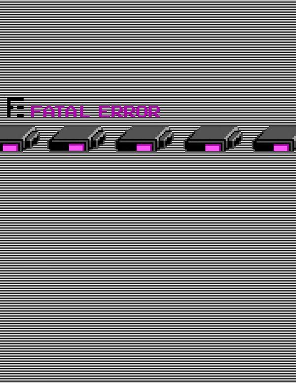 FATAL ERROR by Lukas von Reznicek, via Behance