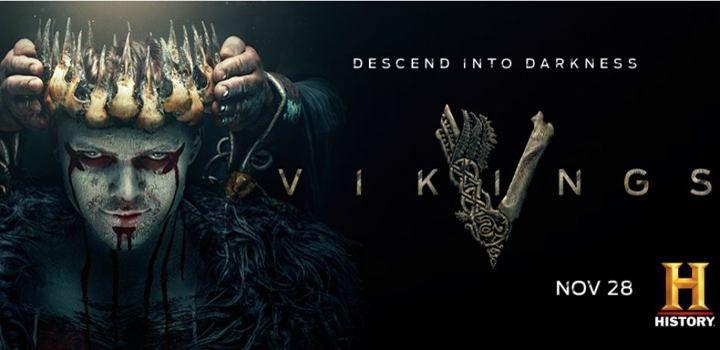 Ver Vikings 5x13 Hd Online Temporada 5 Episodio 13 Mega El Obispo Heahmund Es Convocado Por El Rey Alfredo Quiere S Vikings Season New Poster Vikings Season 6