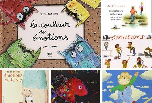 Ma sélection de 6 livres pour enfants sur les émotions. Parce que savoir ce que l'on ressent, c'est important.