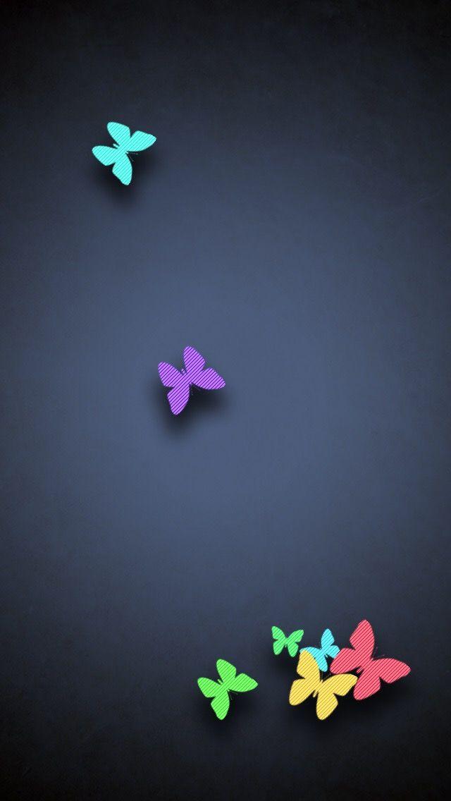 iPhone Wall: Buttetflies tjn