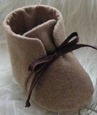 как сшить ботинки для малыша