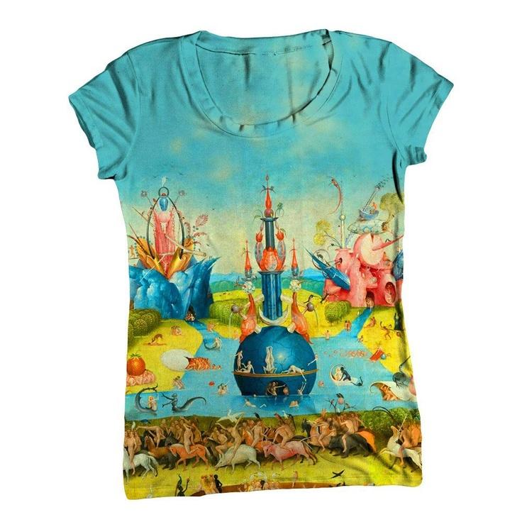 """Hieronymus Bosch 001"" shirt"