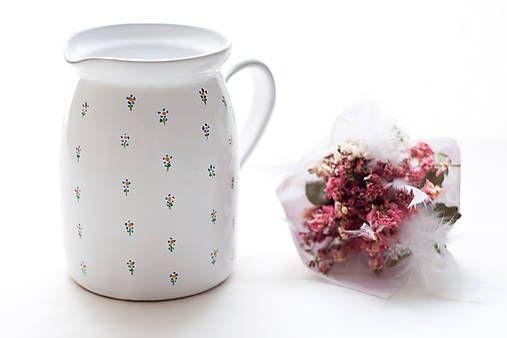 Majolika-R /  Keramický mliečník
