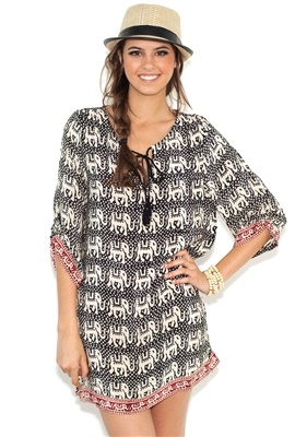 Beach cover up. Wish it was cheaper!