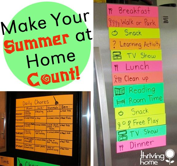 TONS of PRACTICAL ideas to make your summer at home with kids count!