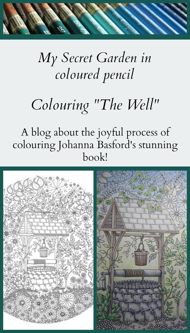 Colouring The Well In Johanna Basfords Beautiful Book My Secret Garden MySecretGarden