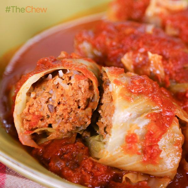Michael Symon's Stuffed Cabbage #TheChew