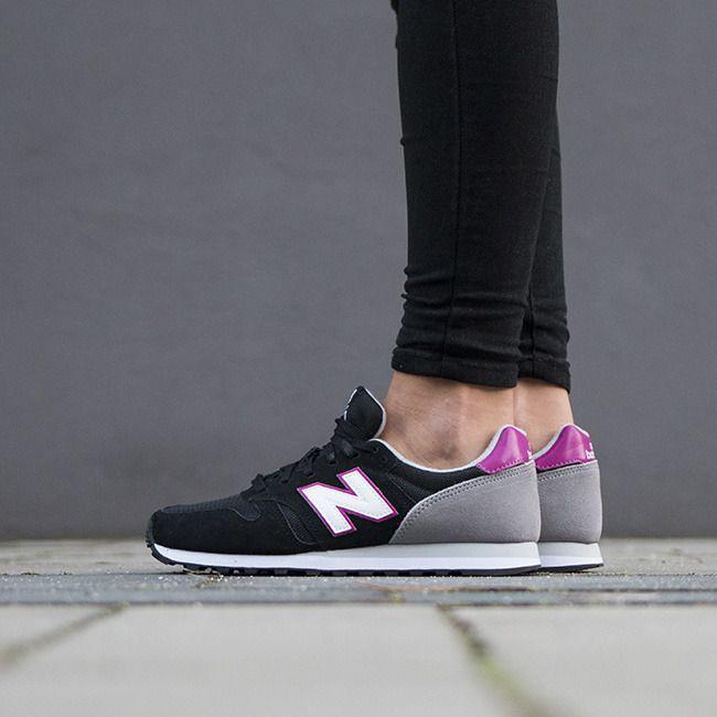 Buty damskie sneakersy New Balance WL373PN - CZARNY