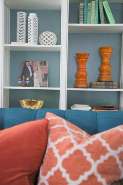 How to Style Your Bookcases with HomeGoods - The Decorologist