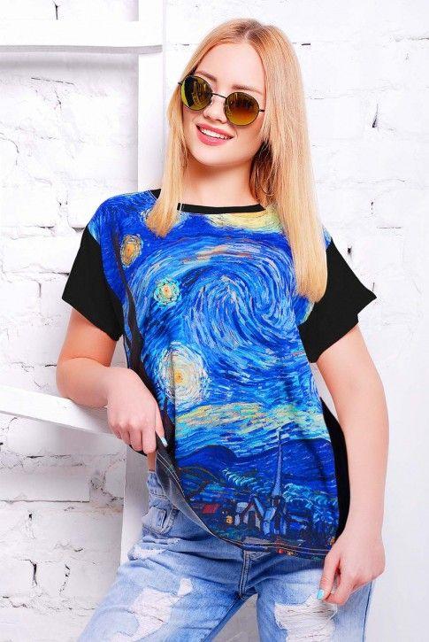 #вангог #футболка #niko-opt
