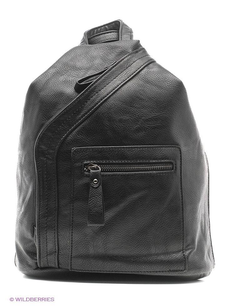 Рюкзак-сумка  женский Malvinas. Цвет черный.