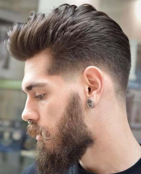 Types Of Fade Haircuts For Men 2019 Men Hairstyle 2019 Beard