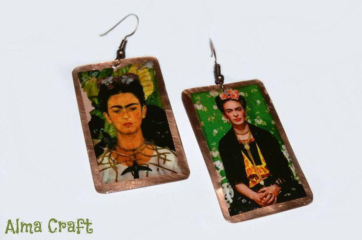 Frida's Resin Earrings