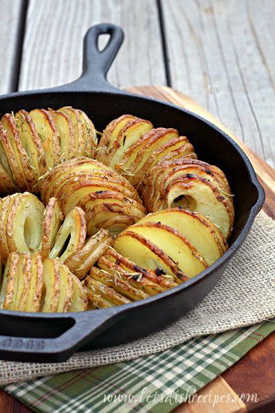 Easy Hasselback Potatoes on MyRecipeMagic.com