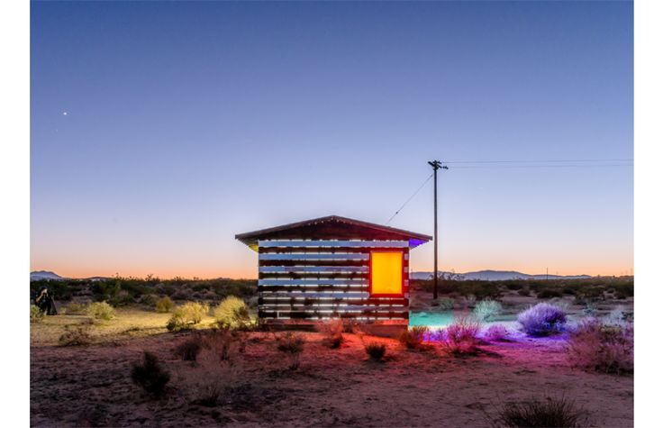 U.S.A -  On the weekend of October 12th in Joshua Tree, California, artist Phillip K Smith III revealed his light based project, Lucid Stead.What was expected to be a two day event for a handful of viewers,turned into over 400 peopl...