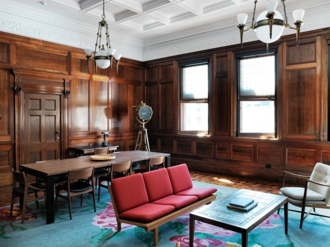 Inside Chippendale's The Old Clare Hotel: Located within two iconic heritage-listed buildings – the former Clare Hotel pub and the Carlton & United Breweries Administration Building is Sydney's newest hotel, The Old Clare.