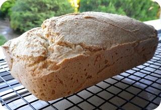 Pão rápido sem glúten