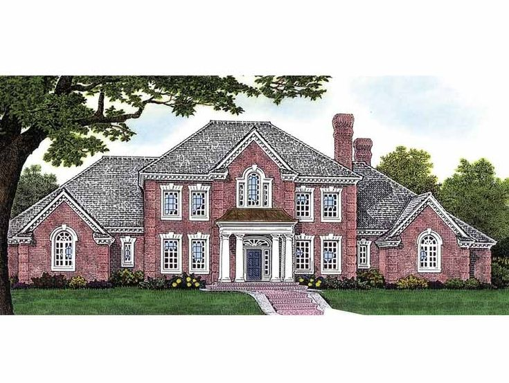 Eplans adam federal house plan four bedroom adam for Adam federal house plans