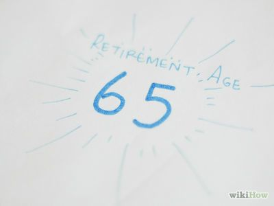 How to Figure Your Retirement Age -- via wikiHow.com