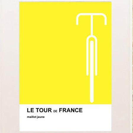 A4 Le Tour Print