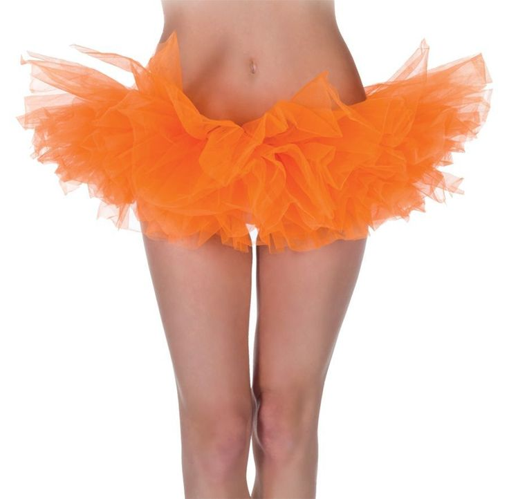 Ярко-оранжевая юбка-пачка — http://fas.st/0hKwqJ