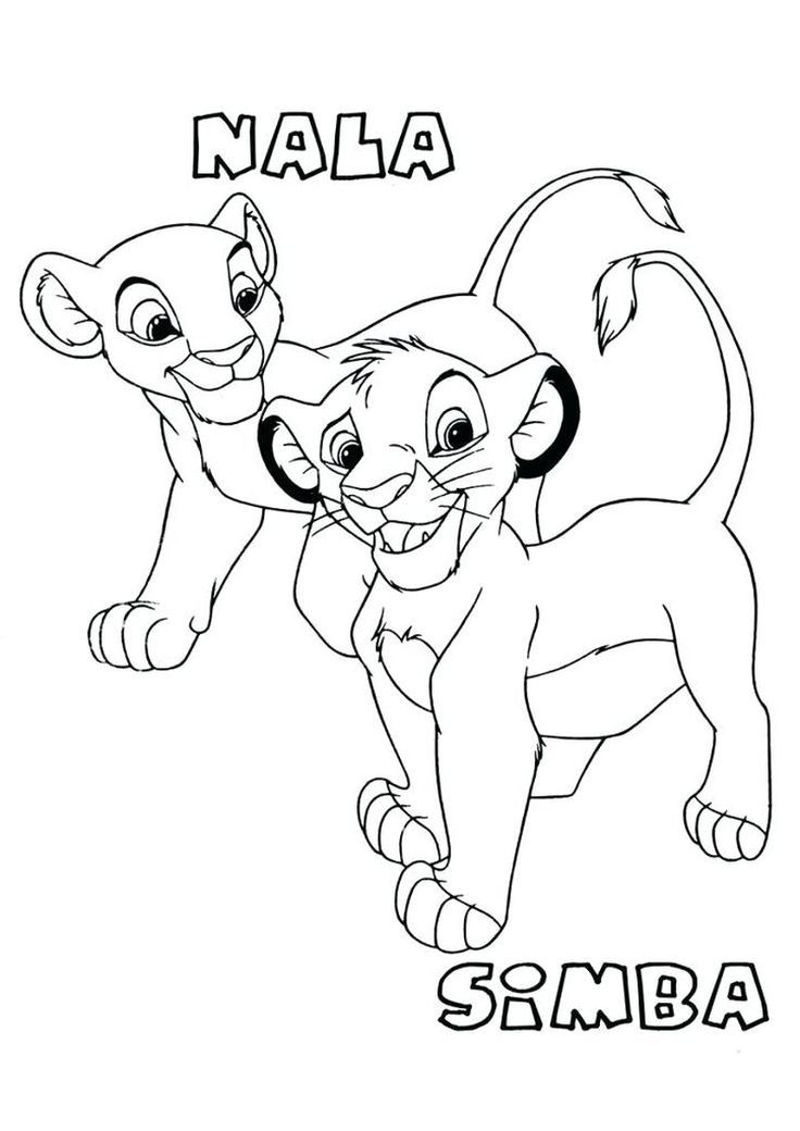 The Lion King Scar Coloring Page Lion King Drawings Lion Coloring Pages Horse Coloring Pages