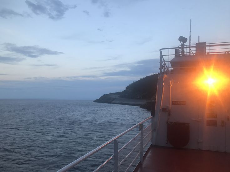 View from the #ferry as we head off to #tadoussac #quebec.  It was a nice evening!  #outhere #canada #outdoors #hike #adventure #roadtrip #wanderlust #travel #backpacking #beautifuldestinations #trekking #waterfall #traveling #trip #greatoutdoors #ohcanada #tourcanada #offthebeatenpath #backcountry #explorecanada #explore #parkscanada