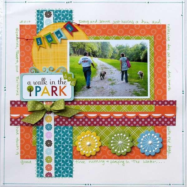 A Walk in the Dog Park **MyCreativeScrapbook**