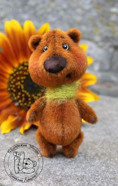Mini Bear Po by Tashka's Bears