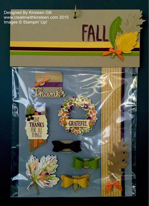 Fall Card Candy...in June? - Creatin' With Kirsteen