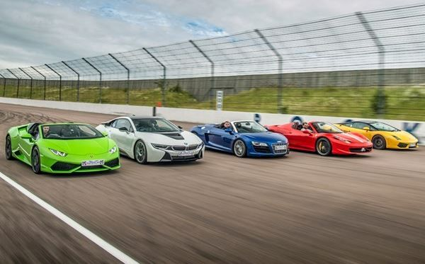 Five Supercar Driving Blast With Free High Speed Passenger Super Cars Driving Passenger