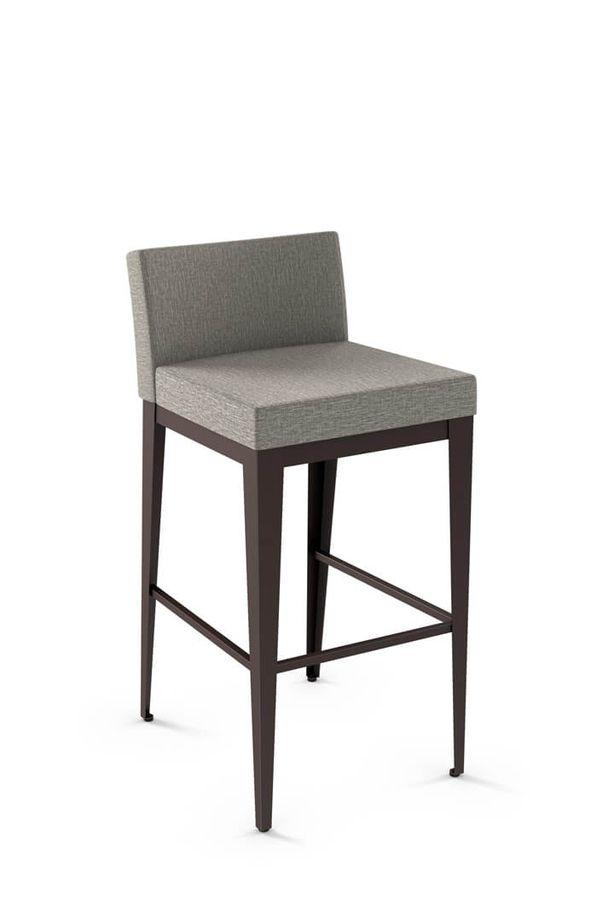 Buy Amisco S Ethan Modern Low Back Bar Stool Free Shipping Bar Stools Kitchen Bar Stools Home Decor Cheap bar stools with backs