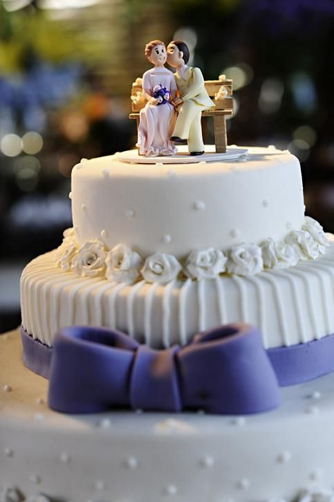 de Casamento Amarelo e Lilás  Noivinhas de Luxo  Topos de
