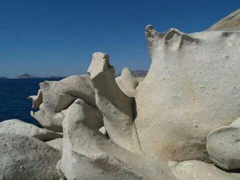 Naxos islets.