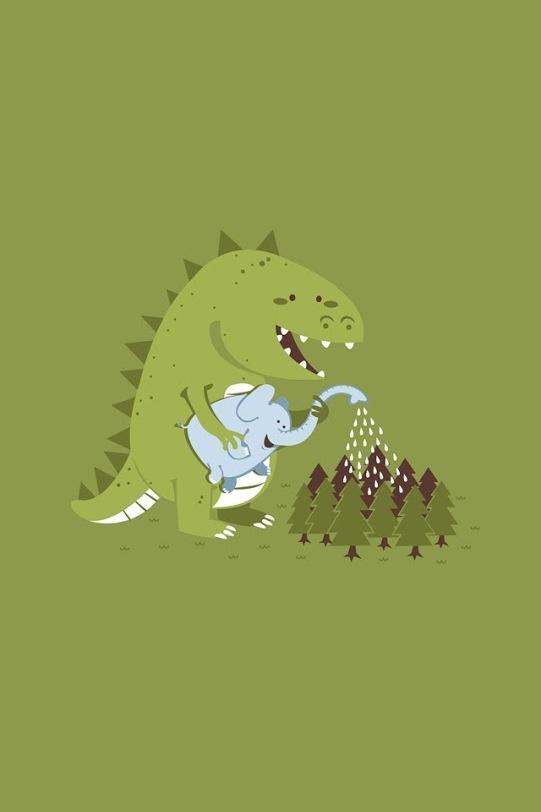 dinosaur phone wallpaper - photo #10