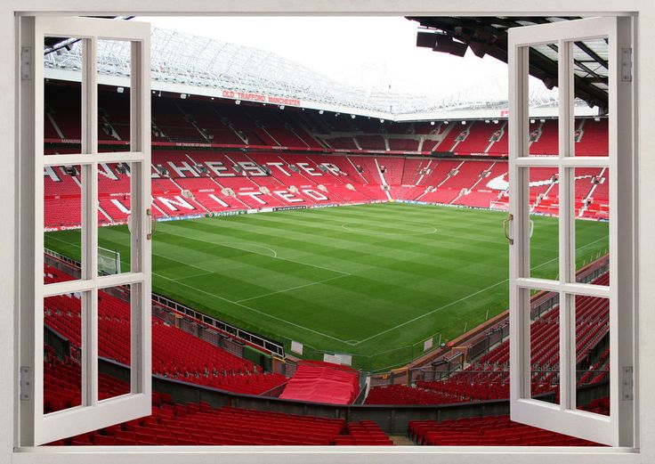 Old Trafford Manchester United Club Stadium 3D Window Wall Sticker Poster Vinyl in Home, Furniture & DIY, Home Decor, Wall Decals & Stickers | eBay!