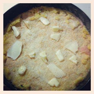 Torta patate e prosciutto cotto