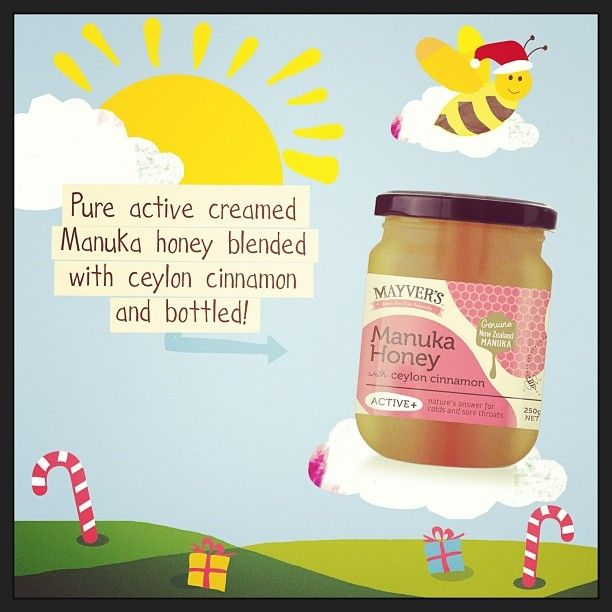 Tis the season to be healthy!! Our new pure-state creamed manuka honey with fresh Ceylon cinnamon would make the perfect lil pressie! You can buy it online at aussiehealthproducts - http://www.aussiehealthproducts.com.au/mayvers-health-time.php  #purestate #healthy #cleaneating #fitspo #christmasspirit #mayvers #honey #naturalfood #yum