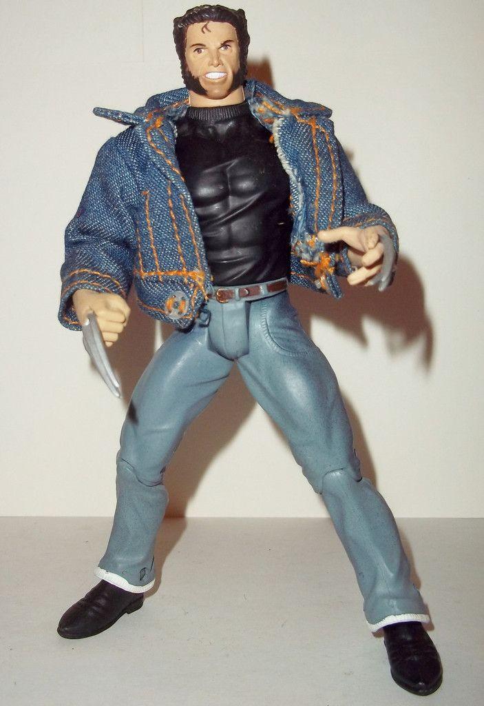 Marvel Legends Wolverine Denim Jean Jacket X Men Movie