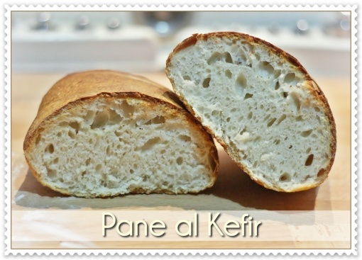 Pane al kefir