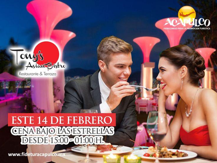 https://flic.kr/p/S3mkTm | Ten una cena especial con tu pareja en Tony's Asian Bistro de Acapulco. GASTRONOMÍA DE MÉXICO 4 | #gastronomiademexico Ten una cena especial con tu pareja en Tony's Asian Bistro de Acapulco. GASTRONOMÍA DE MÉXICO. Tony's Asian Bistro, te invita a pasar una velada extraordinaria en compañía de tu pareja el próximo 14 de febrero, durante la cual podrán degustar deliciosos platillos para consentir al paladar. Visita la página oficial de Fidetur Acapulco, para obtener…