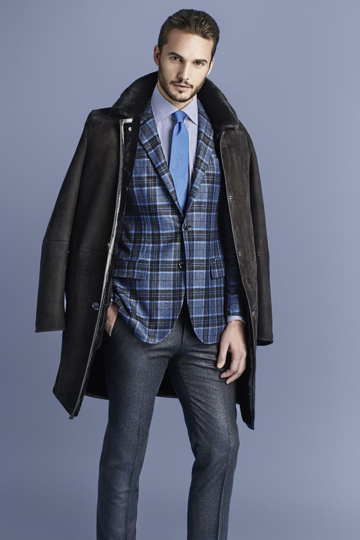 Classic with a contemporary twist. Step into Larusmiani FW15/16 Men's Collection