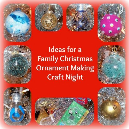 Handmade Christmas Ornament Religious Ornament Icon: Ideas For A Family Christmas Ornament Making Craft Night