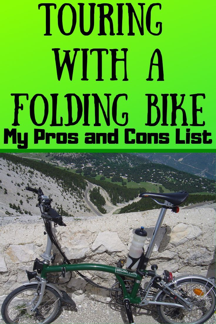 The Best Folding Bike For Touring My Pros And Cons List With