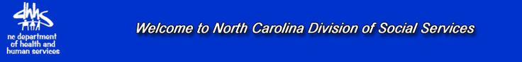 Welcome to NC Division of Social Services